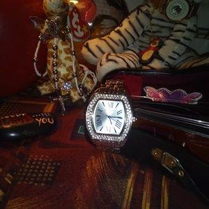 August Jaccard Pave Crystal Bezel Designer WatchBoutique for sale